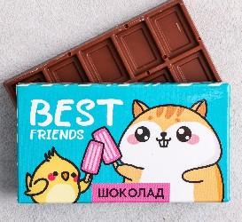 Шоколад молочный «Best friends»