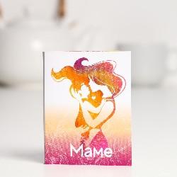 Шоколадная открытка «Маме»